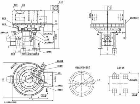 圆盘给料机强制排料装置