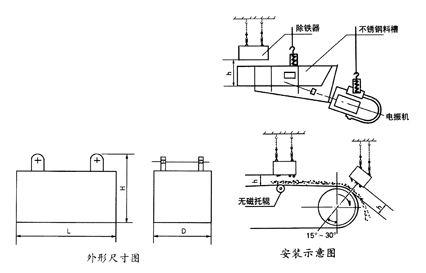 电磁振动给料机悬挂装置安装